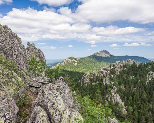 «Величественный Таганай» — национальный парк и горный массив.