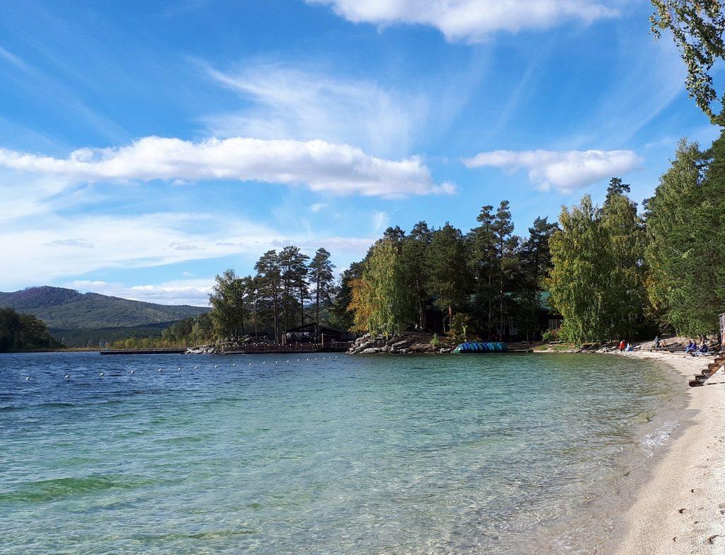 Озеро Тургояк и остров Веры