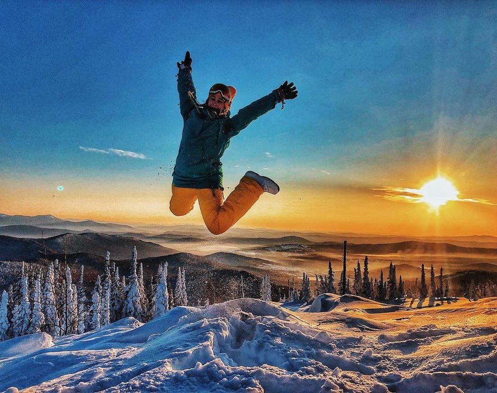 Банное — Абзаково, горнолыжный тур 2 дня